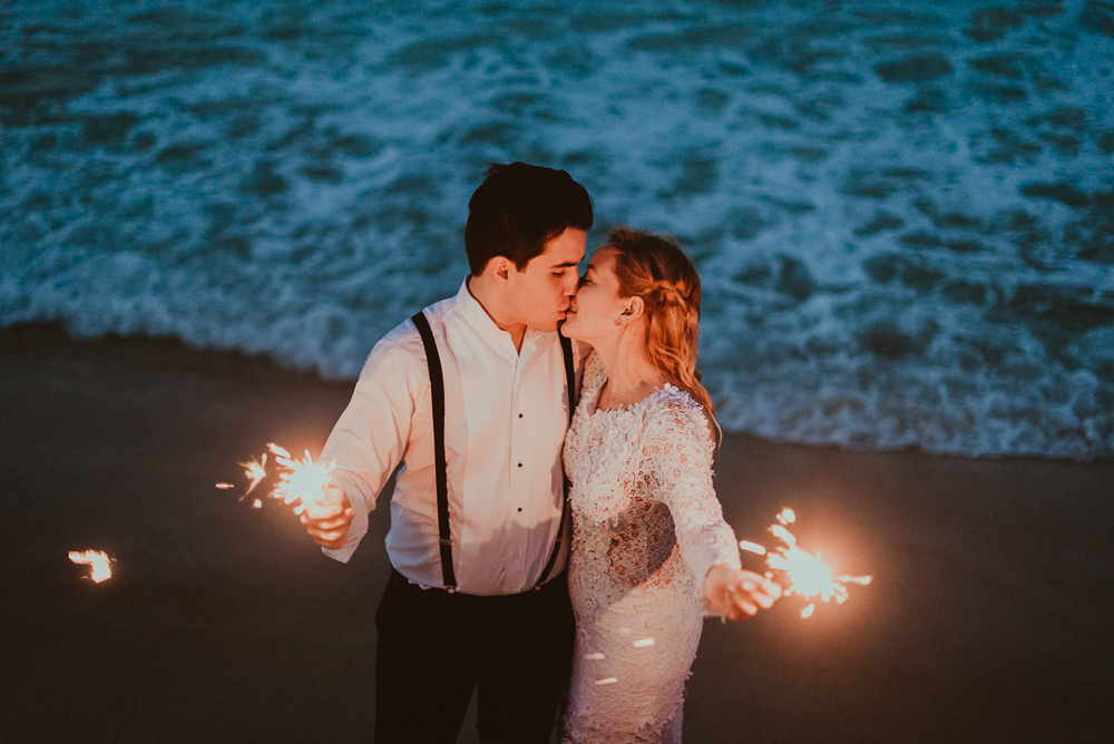 Trash The Dress – Alexa + Kike Bahía de Cata