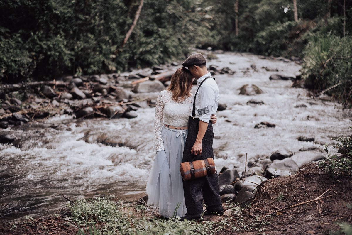 Pre Wedding  Nicole + Hang   Cloud Forest